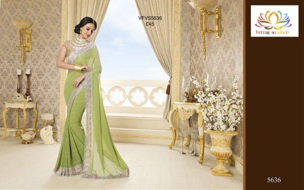 apple-green-sari-with-cream-gold-border-1373-p