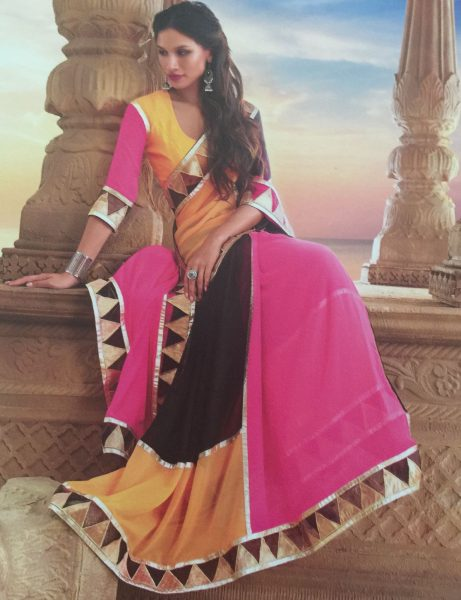 black-pink-yellow-triangles-sari-479-p