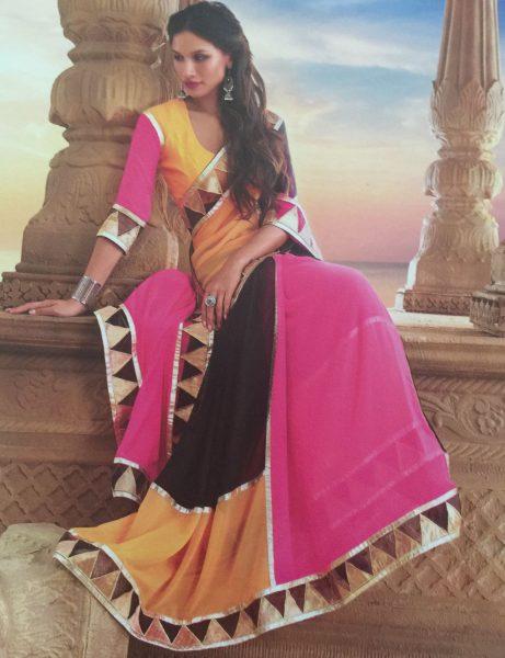 black-pink-yellow-triangles-sari-479-p