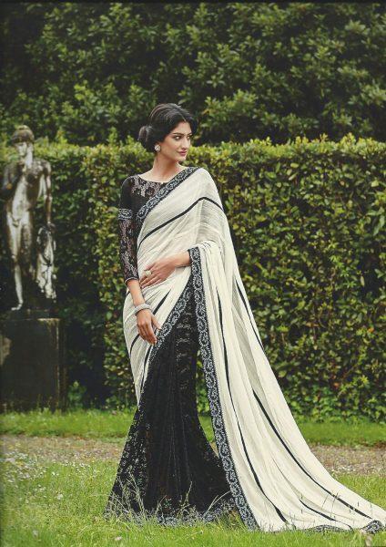 black-white-sari-with-ribbon-bk-flowers-366-p