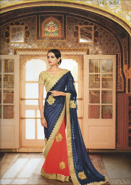 blue-coral-sari-with-goldborder-mirror-emb-379-p