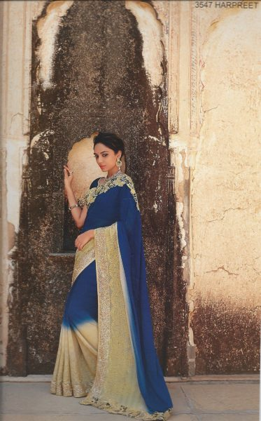blue-sari-with-gold-lace-work-border-347-p