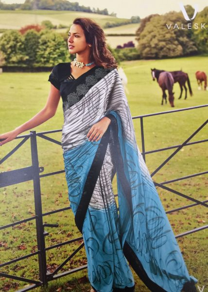 blue-white-print-sari-with-black-border-634-p