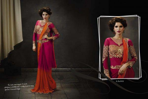 full-length-pink-orange-sari-308-p