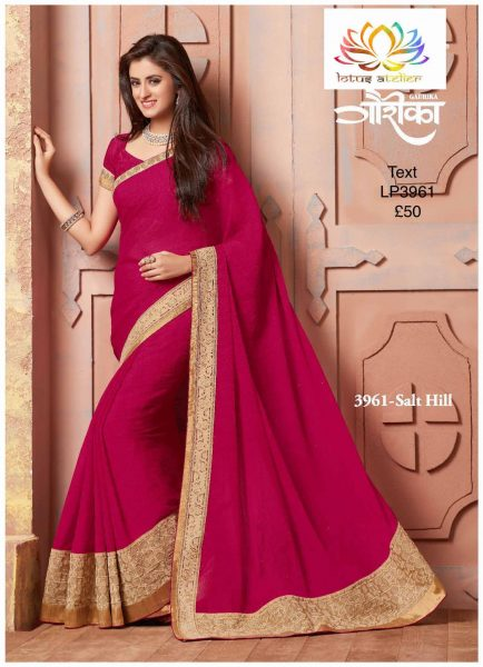 fuschia-pink-sari-with-cream-gold-border-1286-p