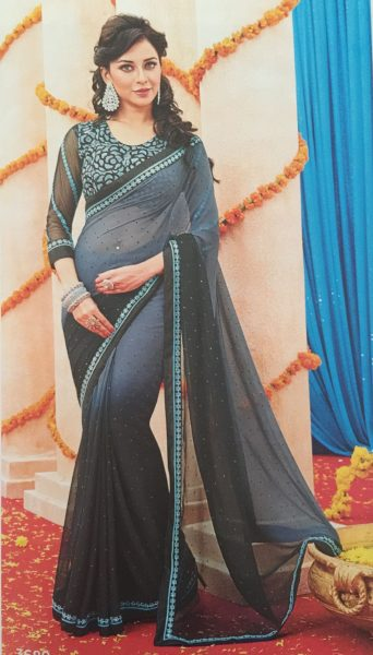 grey-black-sari-with-turqoise-flower-border-486-p
