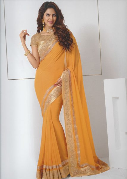 mustard-sari-with-gold-border-394-p