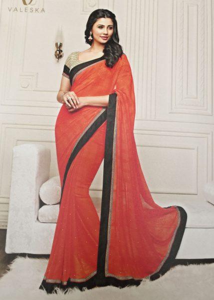 orange-shimmer-sari-with-black-gold-border-616-p
