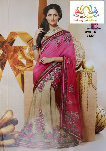 pink-beige-sari-with-flower-emb-1408-p