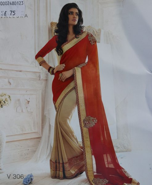 red-beige-sari-with-gold-border-718-p