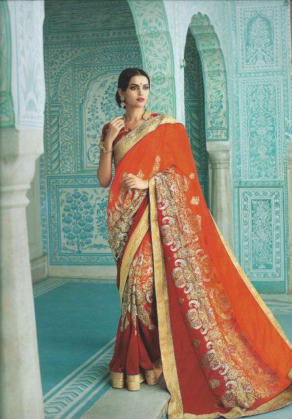 red-orange-sari-with-half-half-thread-work-371-p