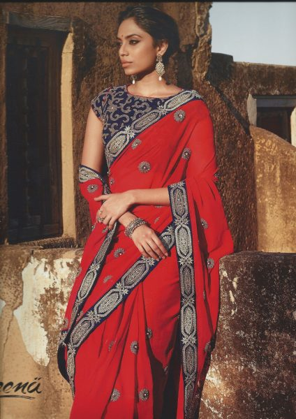 red-with-navy-sari-sequin-border-352-p