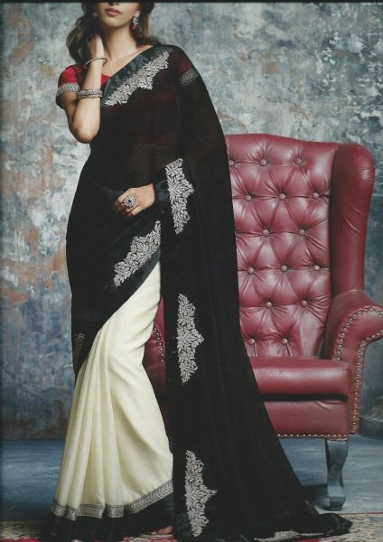 sari-cream-with-black-palla-gold-patchwork-323-p