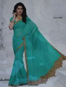 sari-with-gold-lace-border-silver-stones-723-p