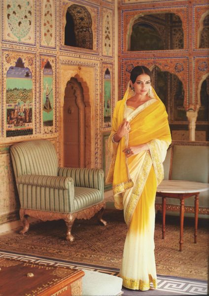 yellow-sari-with-mirror-border-376-p