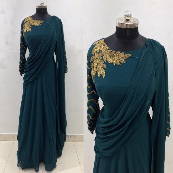 teal-gown